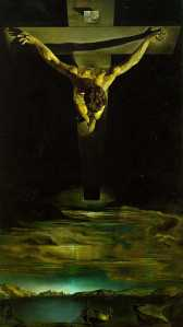 Christ of St. John of The Cross, by Salvador Dali