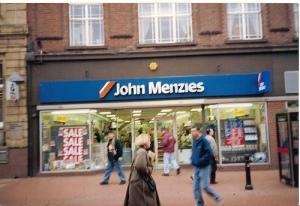 A John Menzies High Street Shop